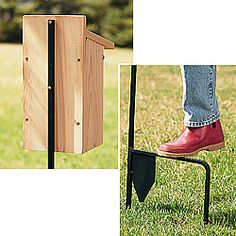 Bird Feeder House Poles, Posts, Hooks Add On Accessories