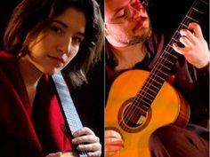 """Elodie Bouny e Thiago Colombo, dois representantes do projeto """"Movimento Violão"""", fazem show no Teatro Anchieta do Sesc Consolação"""