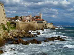 Old Town of Antibes - French Riviera  http://easyhiker.co.uk/beaches-and-billionaires-of-antibes/
