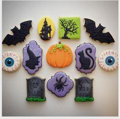 "Jessica Edwards on Instagram: ""The last of the Halloween cookies! #latergram #halloween #halloweencookies #decoratedcookies #customcookies #cookies #saskatoon #yxe"""