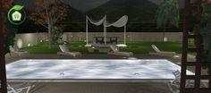 #garden #pool #gardenlight #gardendesign #outdoor #design