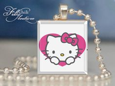 HELLO KITTY Children's necklace. Great Party favor