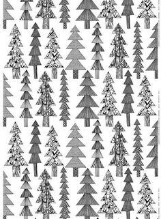 Marimekko Hetkia/Moments Fabric White/Black/Grey | KIITOSlife