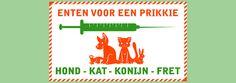 Eigenaren van een hond, kat, fret of konijn kunnen op 18 juni voor een prikkie, een enting halen bij Pets Place in Borger. Ook is het mogelijk om uw huisdier te laten chippen. Het enten en chippen wordt door een ervaren dierenarts gedaan. Aanmelden kan in de winkel of door te bellen naar 0599-238328.  Lees verder op onze website.