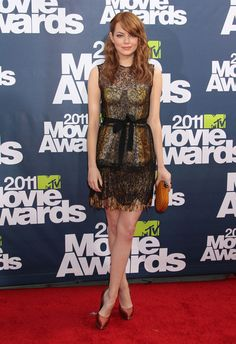 Celeb Crush: Emma Stone has a fantastic sense of style, on AND off the red carpet.  #celebrity