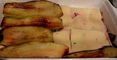Μελιτζάνες -μπέικον -γκούντα στον φούρνο - άλλο πράγμα γεύση !!! ~ ΜΑΓΕΙΡΙΚΗ ΚΑΙ ΣΥΝΤΑΓΕΣ Zucchini, French Toast, Pork, Potatoes, Meat, Vegetables, Cooking, Breakfast, Pork Roulade