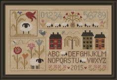 ¿Llevábamos mucho tiempo sin novedades de Jardin Privé ? Pues aquí tenéis cinco nuevos diseños Histoire de moutons 1 : la primera parte de una serie de 5 gráficos que se pueden bordar juntos o por separado Lettre P Comme Points : una más de la serie de...