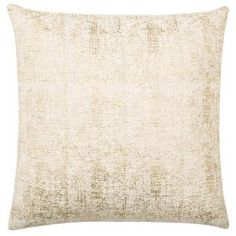 Add elegance to your living room or bedroom decor with the delicate styling of this Safavieh Golden Foil Pillow. White Decorative Pillows, Decorative Throws, Toss Pillows, Accent Pillows, Accent Chairs, Linen Bedroom, Bedroom Decor, Bedroom Ideas, Cowhide Pillows