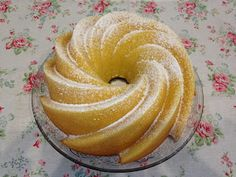 una chispa de dulzura: Bundt Cake de Naranja
