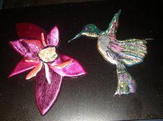 The Art of Friendly Plastic: Friendly Plastic Hummingbird by Phyll Beach