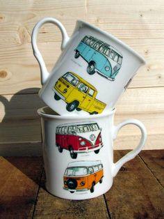 VW Camper Van Classic Mug - CoastalHome.co.uk: