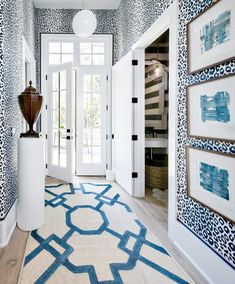 Schumacher Iconic Leopard Wallpaper in Hallway Leopard Wallpaper, Of Wallpaper, Wallpaper In Hallway, Wallpaper In Kitchen, Brighton, Parachute Home, Atlanta Homes, Interior Decorating, Interior Design