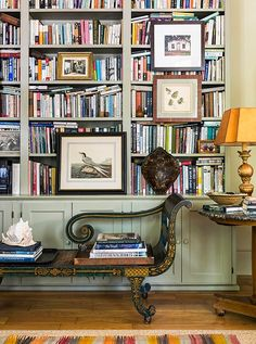 How to Create an Inspiring Home Library