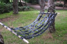 Duct Tape DIY Projects - Hammock -- fun for kids