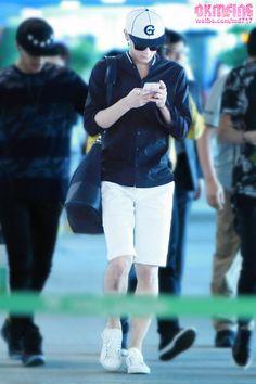 140615- EXO Tao (Huang Zitao); Wuhan Airport to Incheon Airport #exom #men #fashion