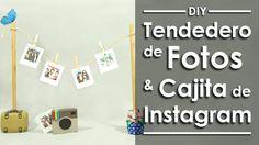 Tendedero de Fotos -DIY