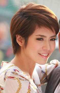 Cute New Short Hairstyles | http://www.short-haircut.com/cute-new-short-hairstyles.html