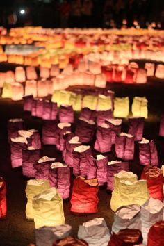 Lantern Festival in Hakata, Japan Like luminarias! Japanese Lighting, Fukuoka Japan, Japanese Festival, Tanabata, Lantern Festival, Hanabi, Festivals Around The World, Kyushu, Japanese Culture