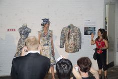 25-10-11  The recent Art Hong Kong fair introduced us to the stunning porcelain dress of Beijing artist Li Xiaofeng. Xiaofeng creates clothing from porcelain fragments from the Ming, Qing and Song dynasties and even more amazing are that they are wearable.