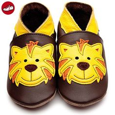 Inch Blue Krabbelschuhe Tommy Tiger Chocolate/Yellow, Medium (*Partner-Link)