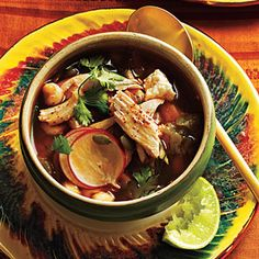 Global Recipes for Thanksgiving Leftovers | Mexican: Stew from Leftover Roast Turkey | CookingLight.com