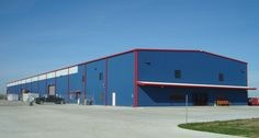 Texas Steel Supply, Houston. SiteCon Services, general contractor. The 34,000 square-foot building features wall lites, wall vents, windows, and two 10-ton cranes.
