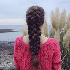 """7-strand braid on myself with my texture iron! Inspired by @braidsandstyles12"" Photo taken by @braided_to_infinity on Instagram, pinned via the InstaPin iOS App! http://www.instapinapp.com (11/15/2015)"