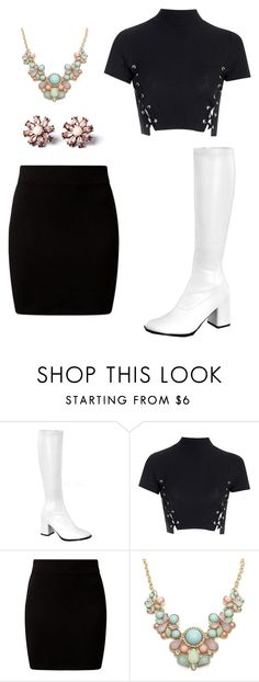 """""""Gogo Boots"""" by celebritiesoutfits on Polyvore featuring Glamorous, women's clothing, women, female, woman, misses and juniors"""