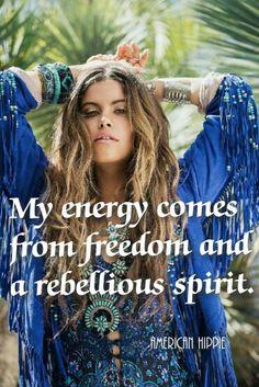 ☮ American Hippie ☮ My energy ... Free Spirit