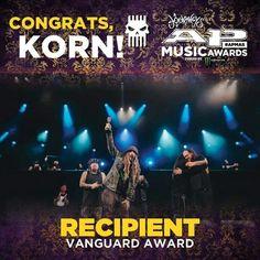 KoRn -Vanguard Award 2017