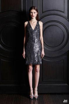 Increíbles vestidos cortos de moda   Colección vestidos Naeem Khan