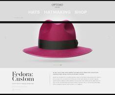 Optimo Hats — Fedora: Custom