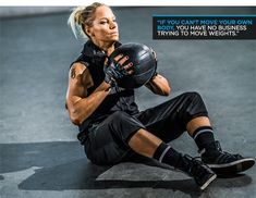 Bodybuilding.com - Ashley Conrad's 21-Day Clutch Cut: Training Intense workout.  I'm doing this one now and do 3 rounds and I'm soaked!