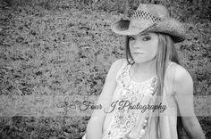 Senior session, Senior poses, Senior photography by lake, Cowgirl Senior, Four J Photography