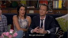 And in May 2016, Barney and Robin announced they've split up. how i met your mother #himym