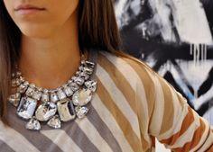 Statement sparkles   http://www.steelemystyle.com/2012/04/19/sequins-metallics-sparkle-5-top-finds-under-200/