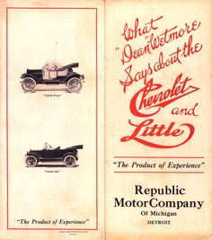 1913 Republic Ad