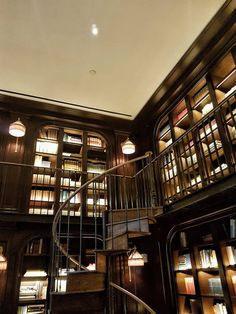 Falling in love with The NoMad Hotel * New York - The Hotel Trotter Nomad New York, Stair Shelves, Nomad Hotel, Stairs, Trotter, Hotels, Books, Design, Home Decor