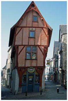 La maison de l'Isle - Vitre, Bretagne