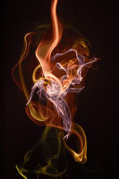 Born of Fire - smoke photography