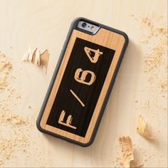 F/64 Wood iPhone Case