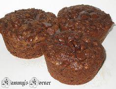 Kammy's Korner: Kammy's Chocolate Oatmeal Muffins