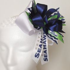 Over the top Seahawks bow