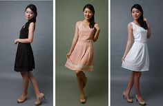Side Lace Swirl Dress S$28   from: Drezz Imprezzion