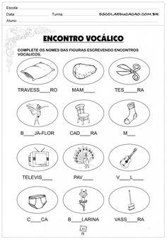 Atividades de Português 3º ano - Encontro vocálico 2