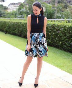 Por ai... De vestido @frutacor by lutranchesi