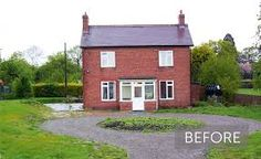 Image result for before and after house exteriors uk