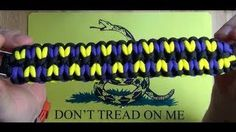 watched paracord bracelet - YouTube