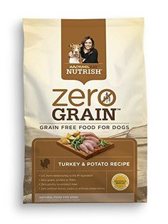 Rachael Ray Nutrish Zero Grain Natural Dry Dog Food Turkey  Potato Recipe 315 lbs * Visit the image link more details. This is an Amazon Affiliate links.
