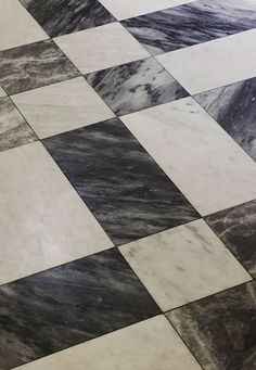 Marble flooring for a sophisticated interior at Nobis Hotel, Stockholm Floor Patterns, Tile Patterns, Stone Tiles, Marble Stones, Floor Design, Tile Design, Hotel Stockholm, Stockholm Sweden, Checkered Floors